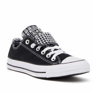 New Converse Chuck Taylor Double Tongue Sneakers